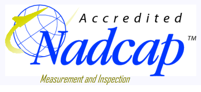 Nadcap Measurement and Inspection Accredited
