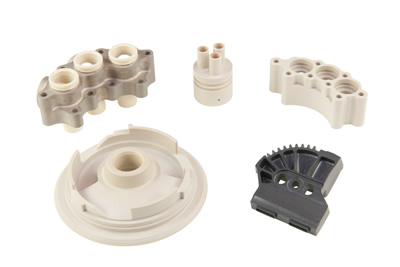 Precision plastics machining